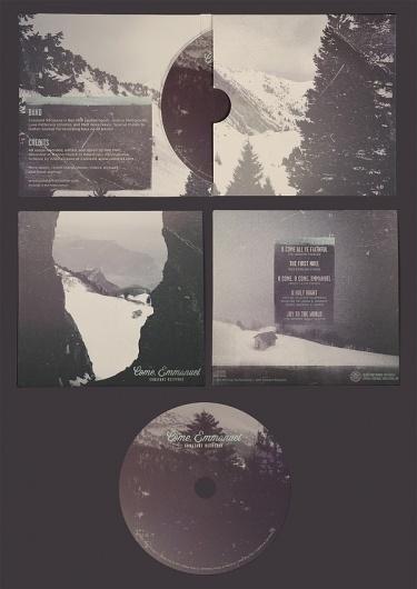 Come, Emmanuel #music #design #packaging #winter
