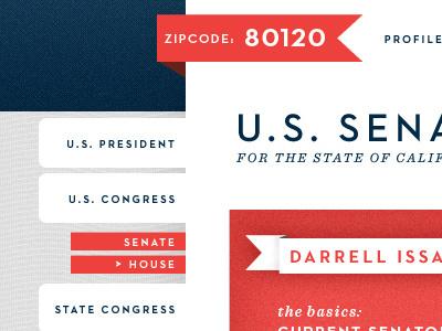 Interior dribbble #political #design #web #interface