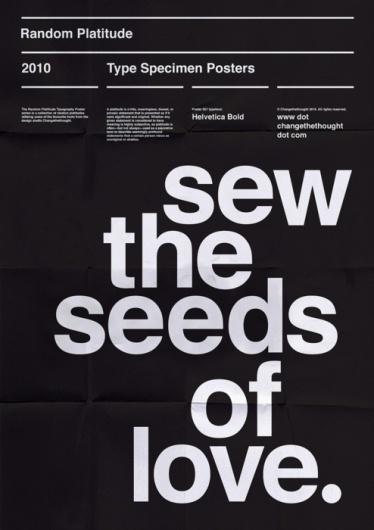 Tumblr helvetica black poster typography