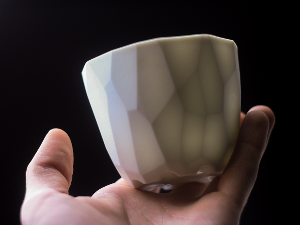 Polyunomi on Behance #vessels #porcelain #cup