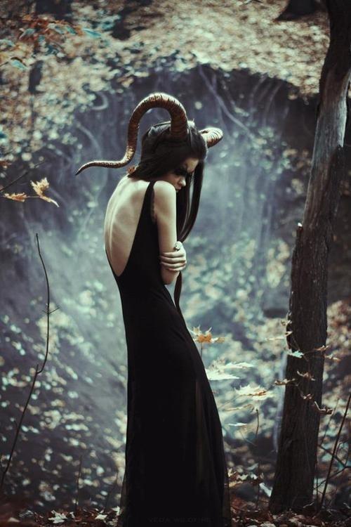 Tumblr #beast #goat #horn #666 #baphomet #satan