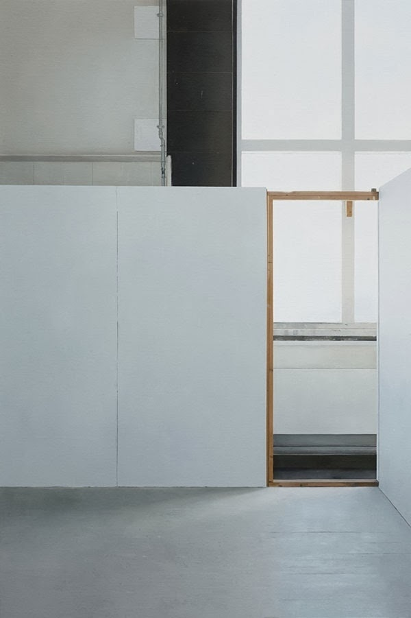 Faith is Torment | Art and Design Blog: Art School: Paintings by Paul Winstanley #wall #area #space #painting