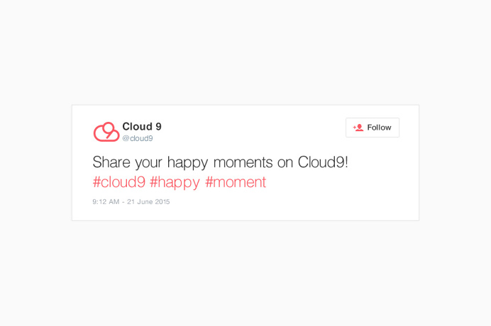 Cloud 9 App Design #app #graphicdesign #logodesign #digital www.ashflint.com