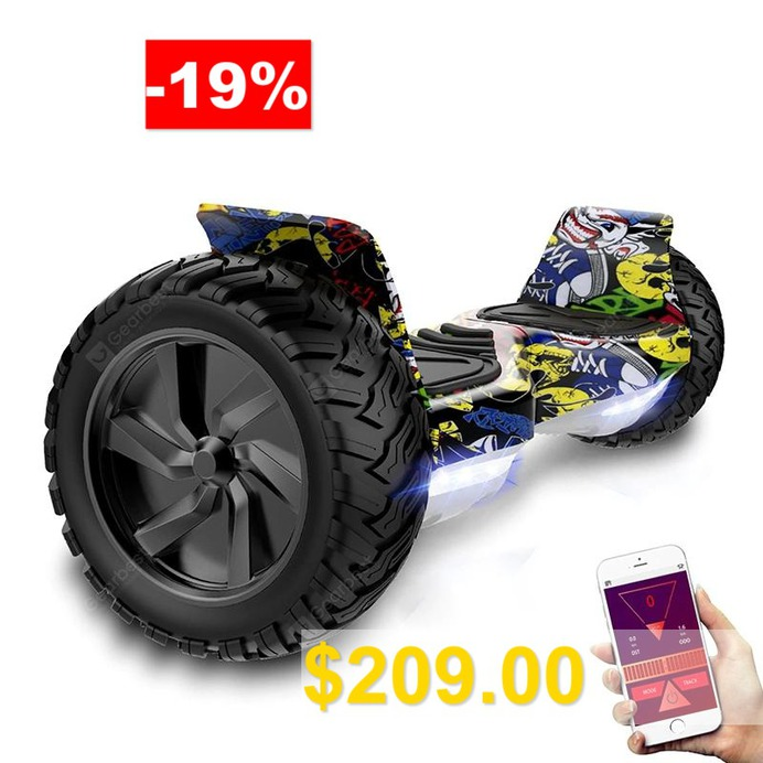 Self #Balancing #Scooter #8.5 #inch #All #Terrain #8.5 #inch #With #Powerful #Motor #Bluetooth #APP
