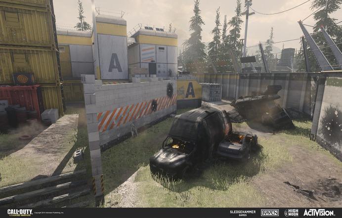 Call of Duty: Advanced Warfare -- Camp Irons