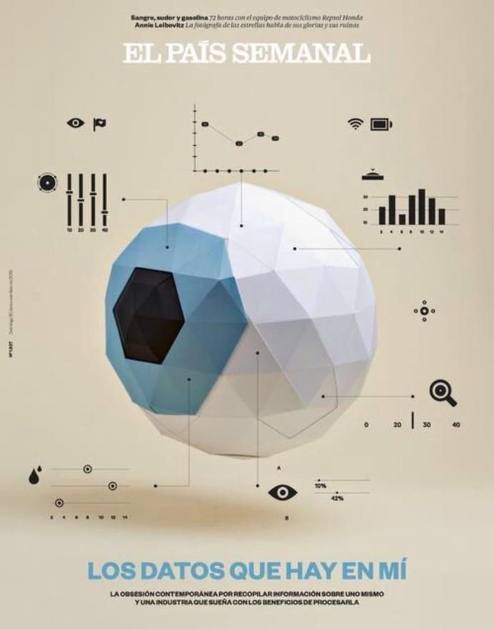 El País Semanal (Editorial) by Lo Siento Studio, Barcelona #visualisation #data #eye #poster