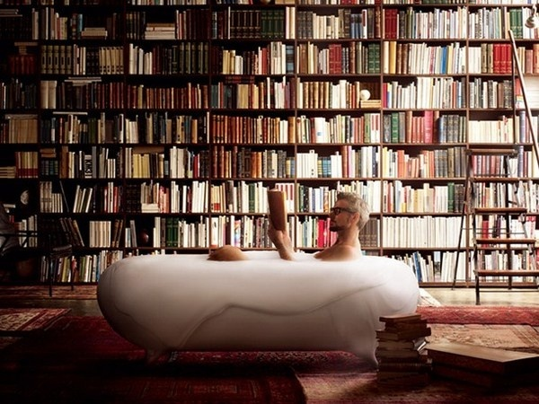 Art instalation with bathtub #artistic #bathroom #furniture #art #bathtub