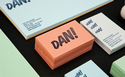 Design Work Life » cataloging inspiration daily #percussionist #color #dan #identity #typography