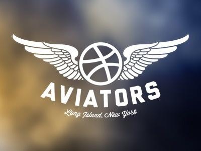 Dribbble - Aviators by Mitch Barbour #aviators #logo #typography