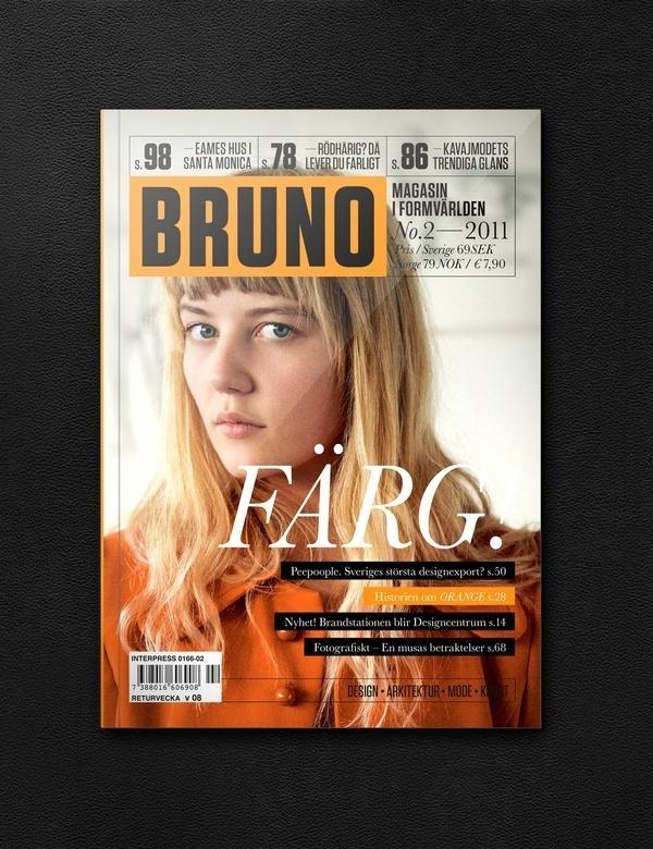 Graphic design inspiration #magazine #type #editorial #swedish