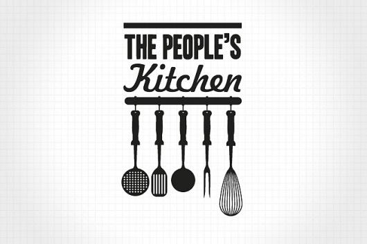 The People's Supermarket | Identity Designed #logo #branding #typography
