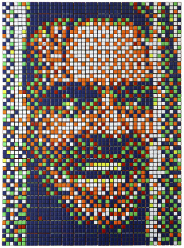 Rubik Kubrick The Shining #invader #kubrick #nicholson #rubik #the #jack #shining