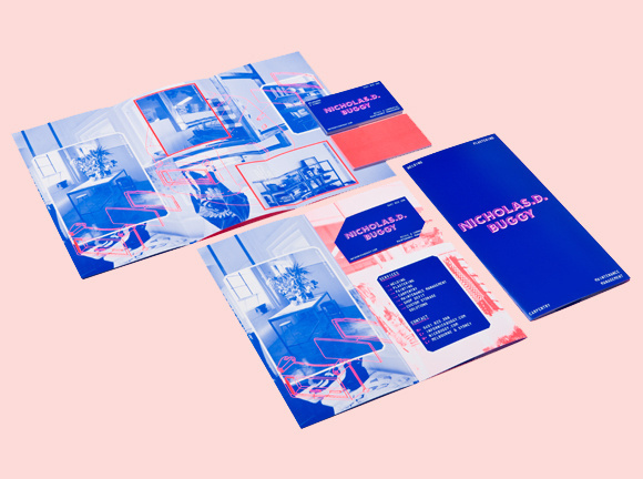 Nicholas. D. Buggy   duod uo #business #branding #card #print #fluro
