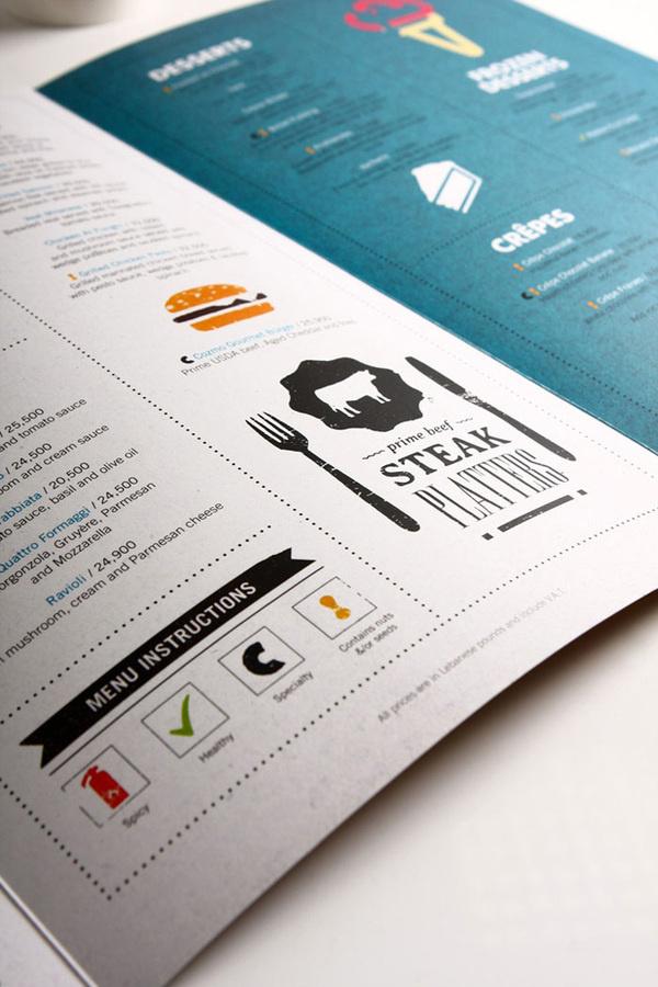 Cozmo Cafe #menu #design