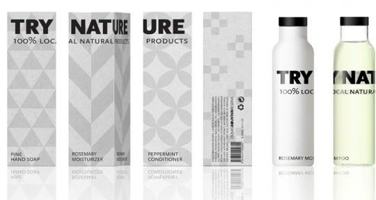 try nature packaging design 2 #packaging #pattern #branding