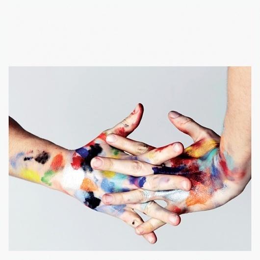 plenty of colour #paint #colour #hands