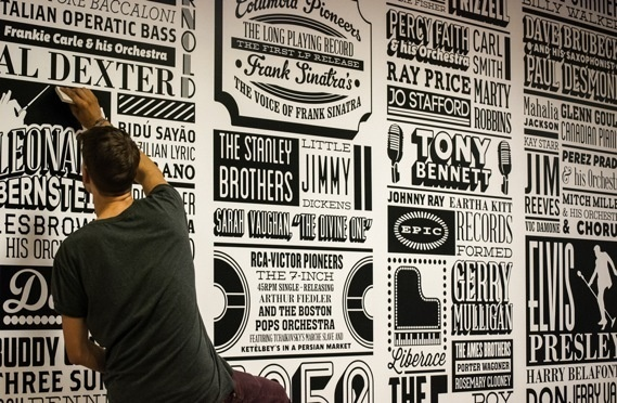 Creative Review Sony Music timeline, 1887 2012 #type