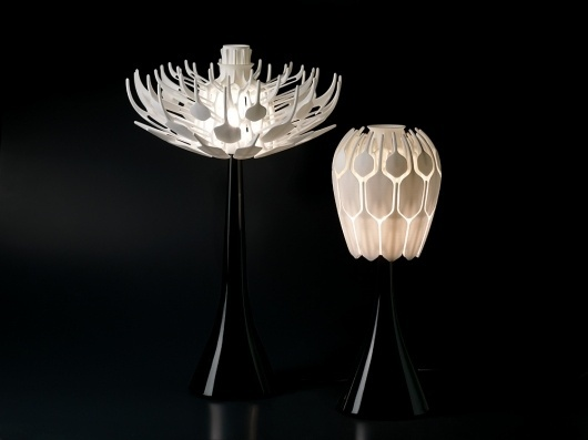 London Design Festival 2011 displays & installations - Victoria and Albert Museum #lamp #design #furniture #bloom #lighting