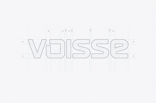 Stylo Design - Design & Digital Consultancy - Voisse #branding #guidelines #grid #logo #layout
