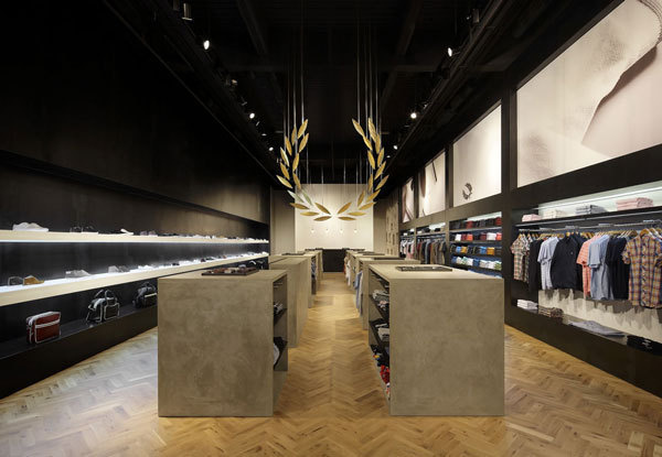 fredperry1 #interior #installation #perry #wood #retail #fred