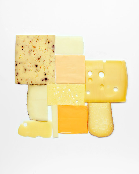 ed: Carl Kleiner is my hero. The Things Organized Neatly book will not be complete without him. #cheese #yellow #neatly #grid #photography #things #organized