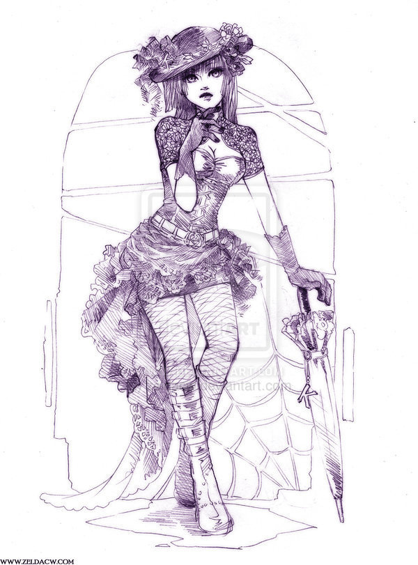30+ Cool Fashion Sketches #girl #art #fashion #drawing #sketch