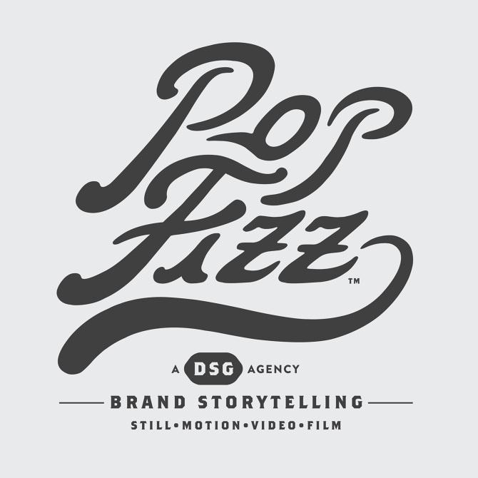 PopFizz Identity #handlettering #branding #illustration #identity #custom #logo #typography