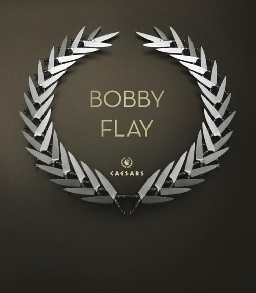 Bobby Flay at Caesars #advertisement #minimalism #restaurant