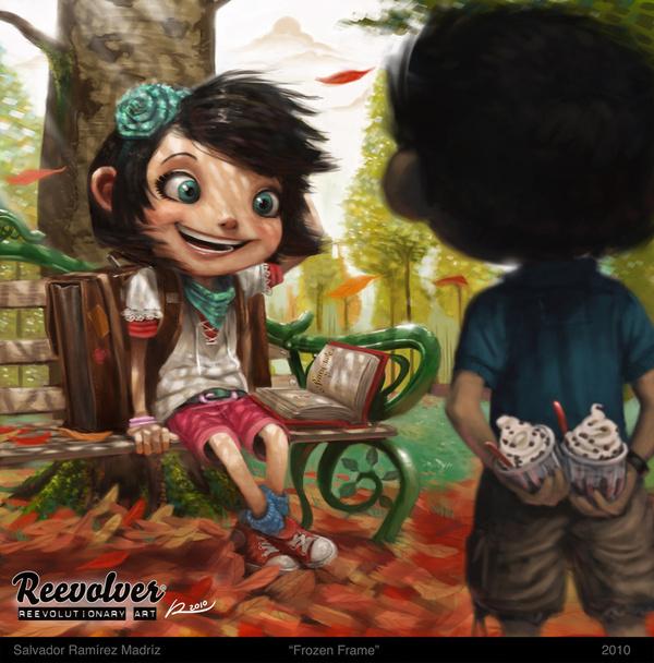 Salvador Ramirez Madriz #kids #illustration