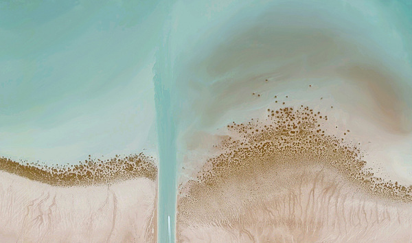 The history of human thought recalls the swinging of a pendulum which... but does it float #topography #photography #aerial #texture