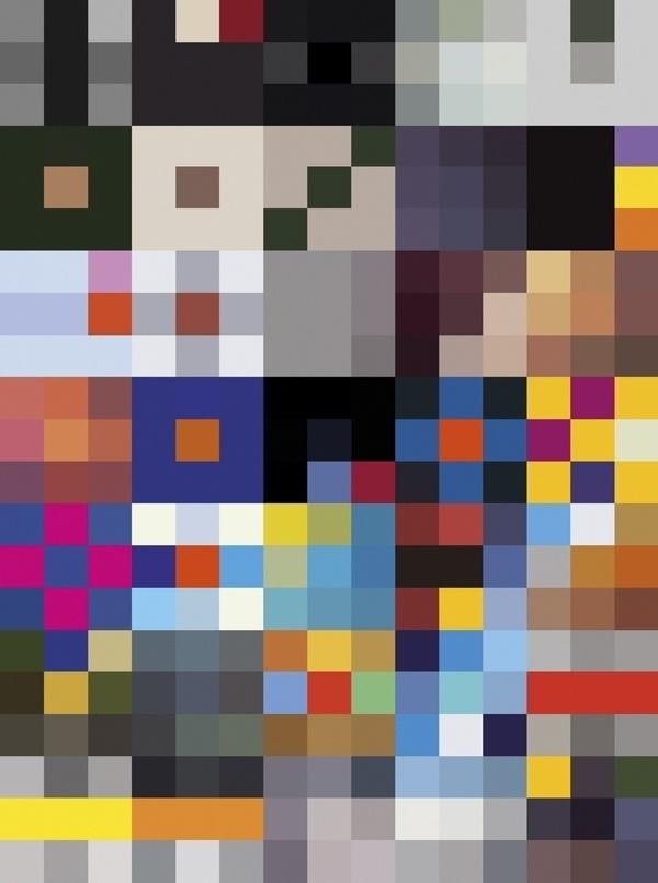 The Far Left #grid #design #colour #pattern
