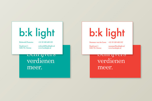 b:k light publishers Andries Reitsma – Graphic & Interaction Design #branding