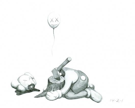 2545226282_e26e26606e_o.jpg 1280×1024 pixels #losers #head #balloon #kaws #axe #beautiful #drawing