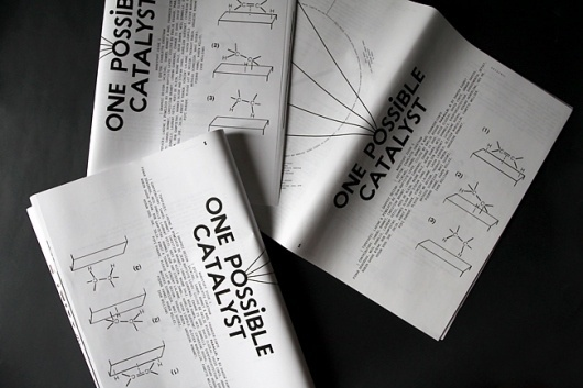 manystuff.org — Graphic Design daily selection » Blog Archive » Manystuff #1, One possible catalyst