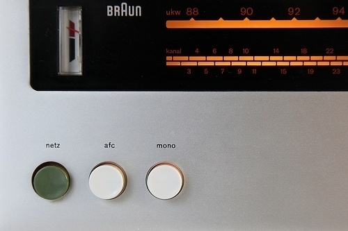 1262 | Flickr - Photo Sharing! #radio #tuner #design #stereo #1960s #industrial #braun #rams #receiver #dieter