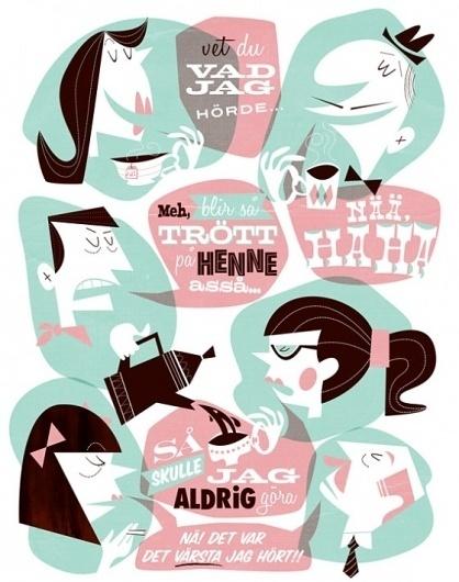Woo Agentur - Gustav Dejert's portfolio: illustration, characters and animation #illustration #sweden #gustav #dejert