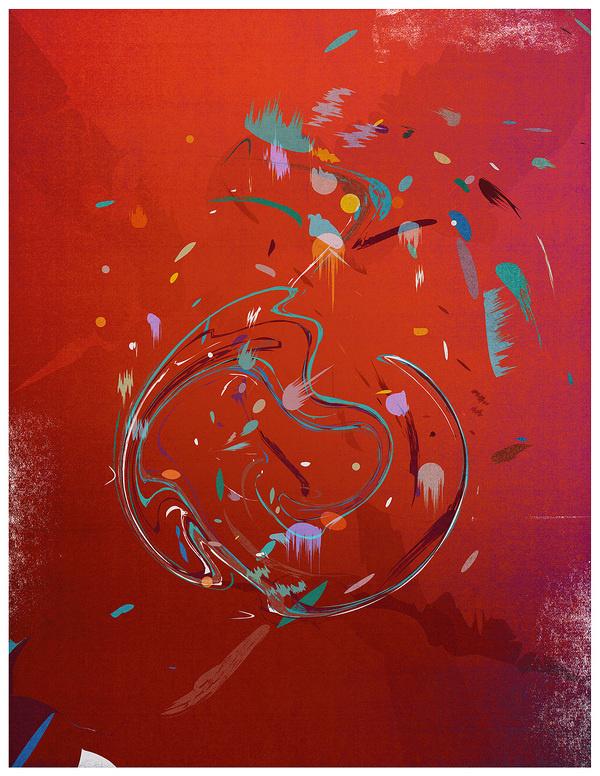 Nigel Evan Dennis, The Work of. #paint #swirls #art