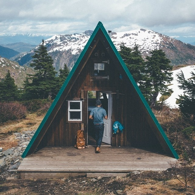 Don't make plans. #cabin #mountains #explore