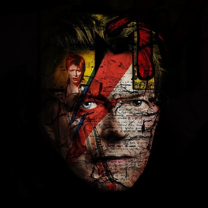 Bruno Timmermans New Icons #photography #mixed #media #david #bowie