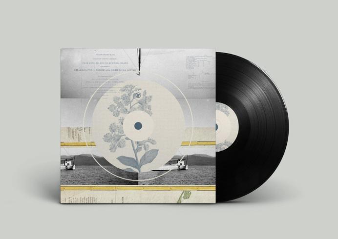 Off Record Illustration — Illustration - Joy Stain #album #montage #noa #record #vinyl #illustration #stain #music #joy #collage #emberson