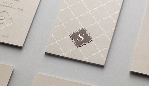 design work life » Manic: The Sultan Branding #card #letterpress #business