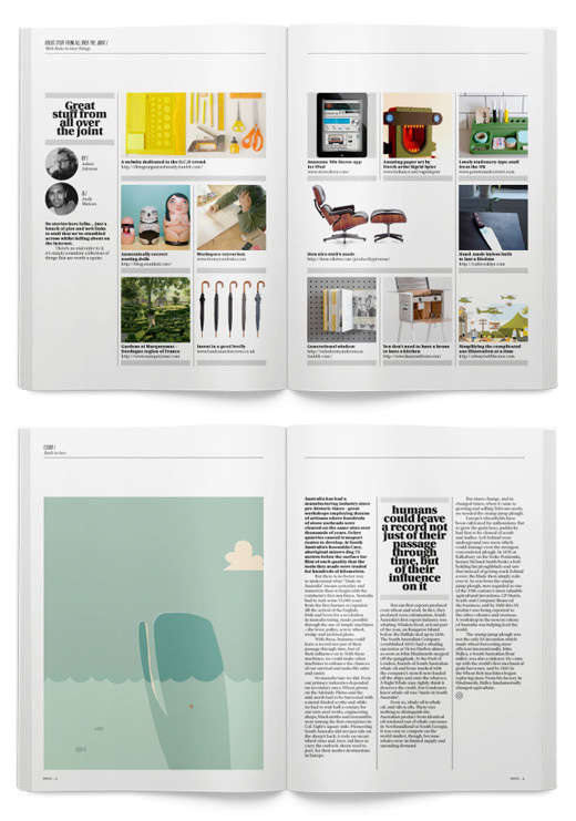 CollectMag2 #spread #layout #magazine