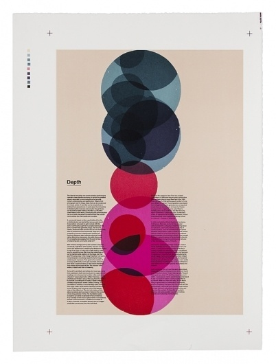 Creative Review - Stone age printing for Æsir #color #poster