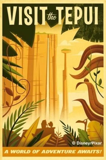tepui.jpg (image) #illustration #travel #vintage #pixar