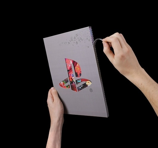 SONY - PLAYSTATION MEDIA KIT on the Behance Network #branding #print #design #book #illustration #sony #special #finishes