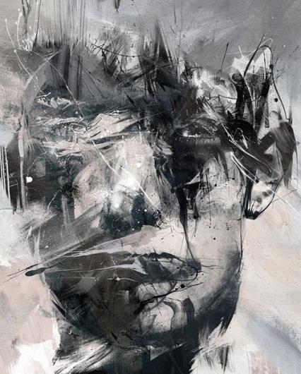 Russ Mills - BOOOOOOOM! - CREATE * INSPIRE * COMMUNITY * ART * DESIGN * MUSIC * FILM * PHOTO * PROJECTS #russ #mills #painting