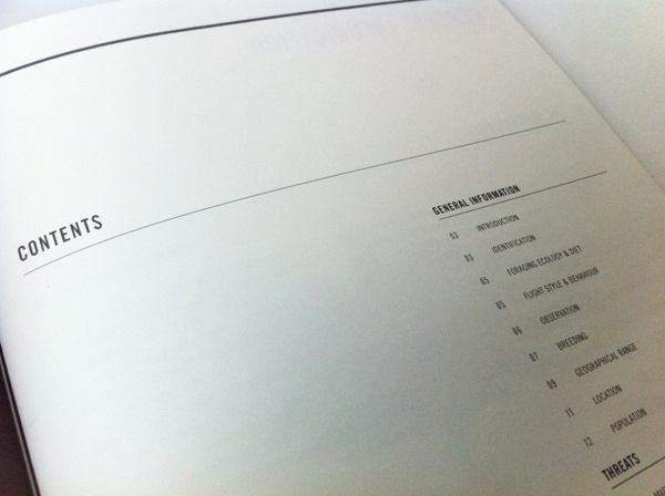 Conservation Report 2012 #white #space #clean #contents #rules #stock