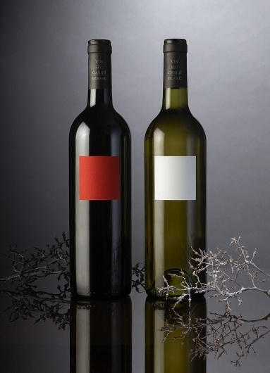 Red and White Wine | Packaging of the World: Creative Package Design Archive and Gallery #packaging #simplicity #wine #fmcg