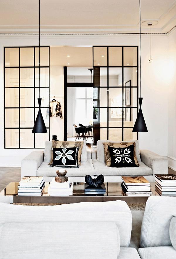 Fashion Designer Luxurious Apartment in Denmark | Miss Design #interior #design #decor #lamps #apartment #livingroom
