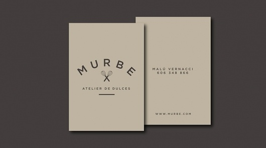 Murbe - wesemua #logo #card #brandmark #business